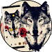 Download Tattoo Rose Romantic Wolf Theme 1.1.4 APK