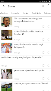 screenshot of The Hindu: English News Today, Current Latest News version 3.7.1