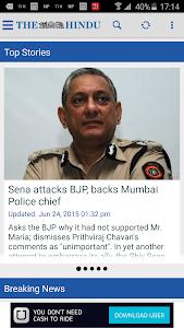 screenshot of The Hindu News (Official app) version 2.4
