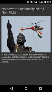 screenshot of The Hindu News (Official app) version 2.3.2