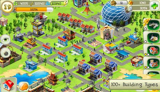 screenshot of Tiny City version 2.3.2
