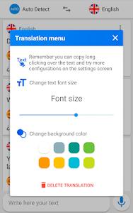 screenshot of Translate voice - Translator version 189.0