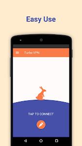 screenshot of Turbo VPN – Free Unlimited VPN & Secure Hotspot version 2.7.8
