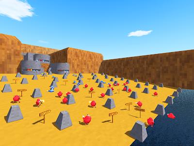 screenshot of Ugandan Knuckles Battle Royale Online Survival version 1.0