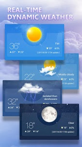 screenshot of Weather version 2.3