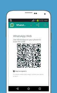 screenshot of WhatsWeb For Whatscan version 4.0