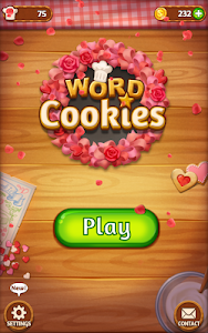screenshot of Word Cookies version 1.0.2