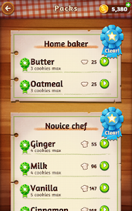 screenshot of Word Cookies version 1.0.2