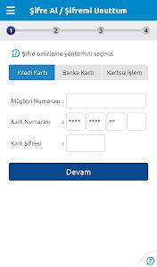 screenshot of Yapı Kredi Mobil Bankacılık version 2.3.5.2