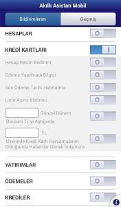 screenshot of Yapı Kredi Mobil Bankacılık version 1.9.0