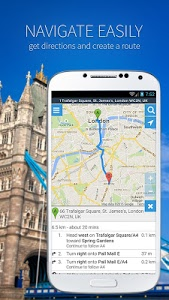 screenshot of Maps and navigation version 4.3