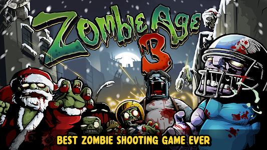screenshot of Zombie Age 3: Shooting Walking Zombie: Dead City version 1.2.6