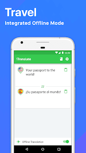 screenshot of iTranslate Translator & Dictionary version 4.6.6