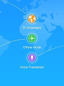 screenshot of iTranslate - Free Translator version 3.5.13