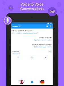 screenshot of iTranslate - Free Translator version 4.0.3
