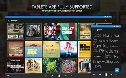 screenshot of n7player Music Player version 3.0.10 googlePlay