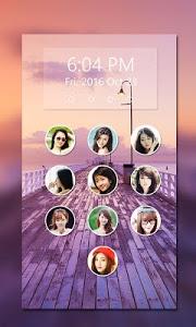 screenshot of photo keypad lockscreen version 3.1.2
